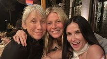 Gwyneth Paltrow, Demi Moore and others stun at makeup-free bash