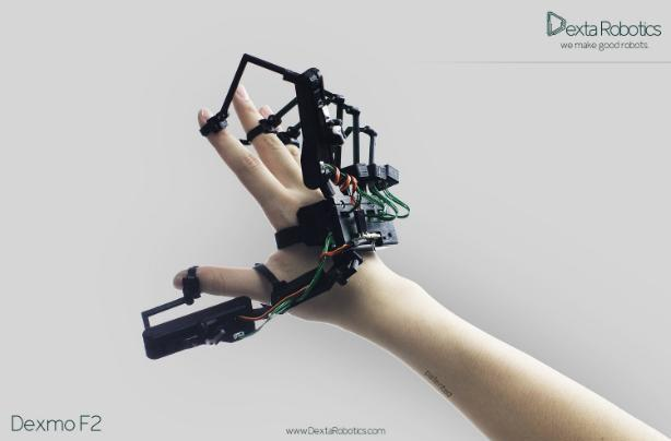 Virtual reality gets touchy-feely with haptic exoskeleton