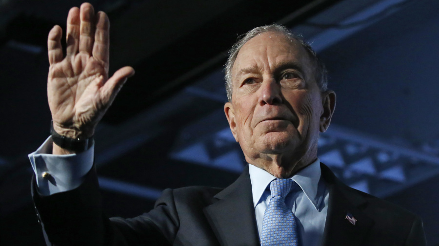 Bloomberg selects new target for Twitter offensive