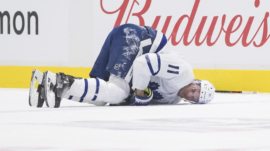 Hyman out at least 2 weeks after taking dirty hit