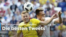 Schweden gegen Südkorea: Die besten Tweets zum WM-Spiel