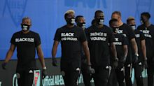 Black Players for Change make powerful pregame statement as MLS returns