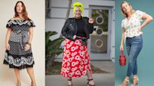 'It felt as if it was made specifically for my body': Anthropologie just made the perfect plus-size wrap skirt