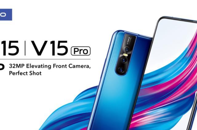 Vivo's new phones include a 32-megapixel pop-up selfie camera
