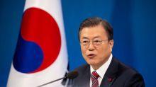 South Korea's Moon urges Biden admin to follow up on Kim, Trump summit