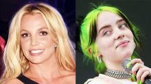 """Billie Eilish Says She """"Almost Pooped"""" Her Pants After Britney Spears Rocked Out to Her Music"""