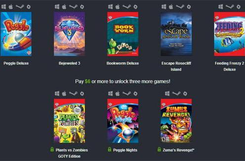Humble Weekly Sale spotlights PopCap with Peggle, Plants vs. Zombies