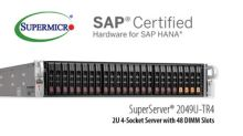 Supermicro Expands Enterprise Solutions Portfolio with New Scale-Up SuperServer Certified for SAP HANA(R)