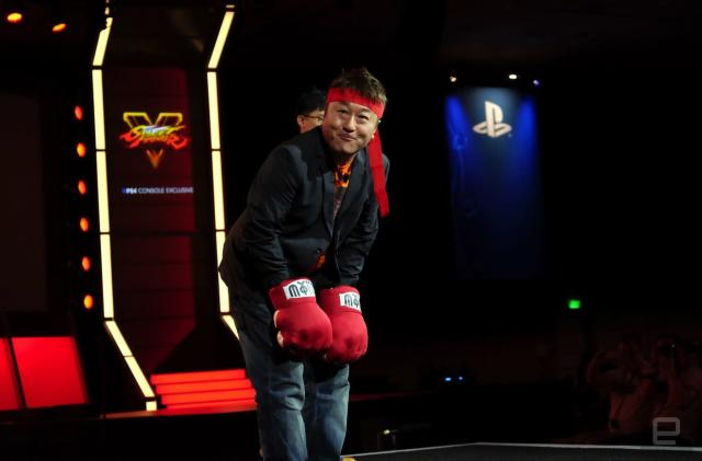 'Street Fighter V' creator says his game is meant for pros and noobs alike