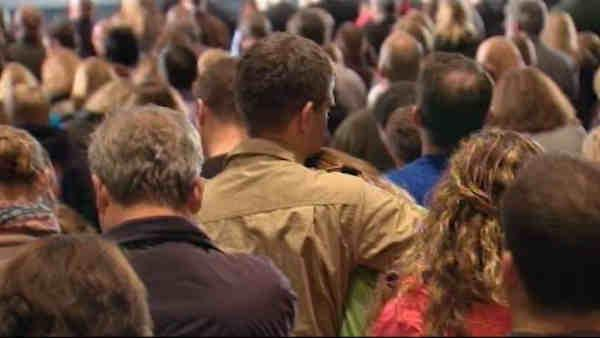 Outpouring of emotion at Newtown Interfaith Vigil