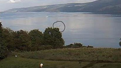 Nessie 'spotted' for NINTH time this year