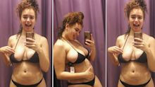 Model posts about the reality of shopping for a bikini as a curvy woman