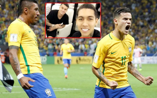 Philippe Coutinho starred for Brazil