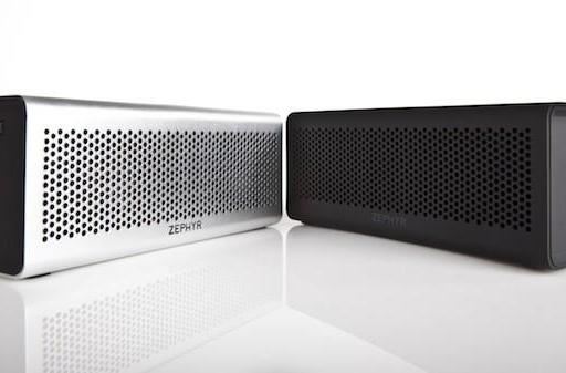 Spar's Zephyr portable Bluetooth speaker lineup streams your music, charges your phone