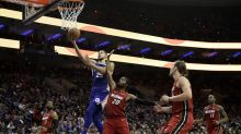 Simmons' 76ers beat the Heat in NBA