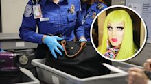 Drag queen shares hilarious TSA experience with a set of fake breasts