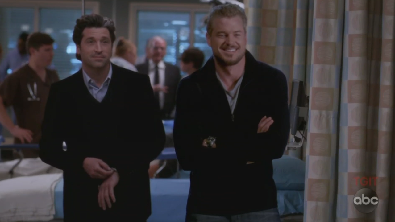 Mcdreamy And Mcsteamy Return To Greys Anatomy Video