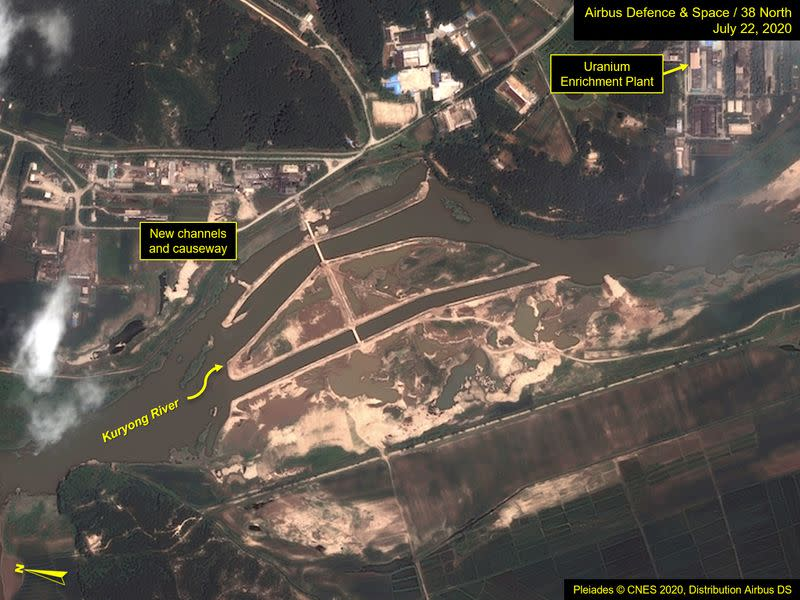 North Korea lifts lockdown in Kaesong, rejects flood and coronavirus aid