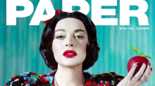 Lindsay Lohan poses as Disney princesses for Paper magazine