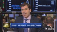 First trades to rebound