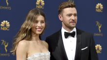 Justin Timberlake apologises for 'lapse in judgement' after being pictured holding hands with co-star