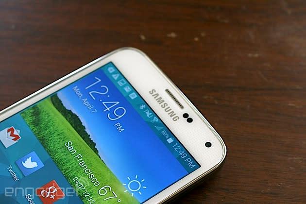 Verizon brings Lollipop to Samsung's Galaxy S5 in the US