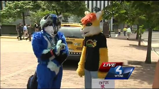 Don't be scared: It's only the furries