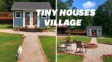 Ces parents ont fabriqué des tiny houses pour respecter l'intimité de leurs enfants