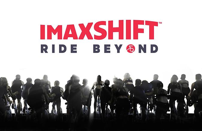IMAX wants to host your indoor cycling sessions