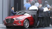 Hyundai Motor to launch Genesis midsize sedan in US in 2018