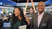 After The Show …  'omg! Insider' Breaks Down Beyoncé's 'Life Is But A Dream' … in the Newsroom