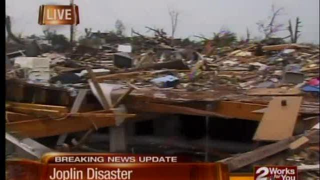 Joplin search for survivors