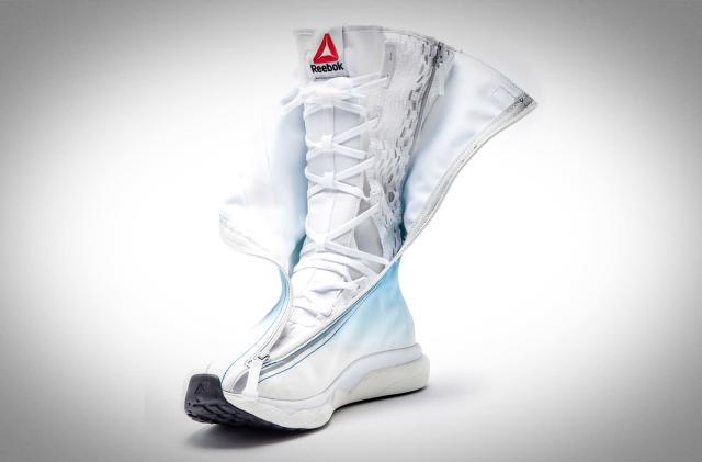 Reebok's new foam space boots bring comfy kicks to astronauts