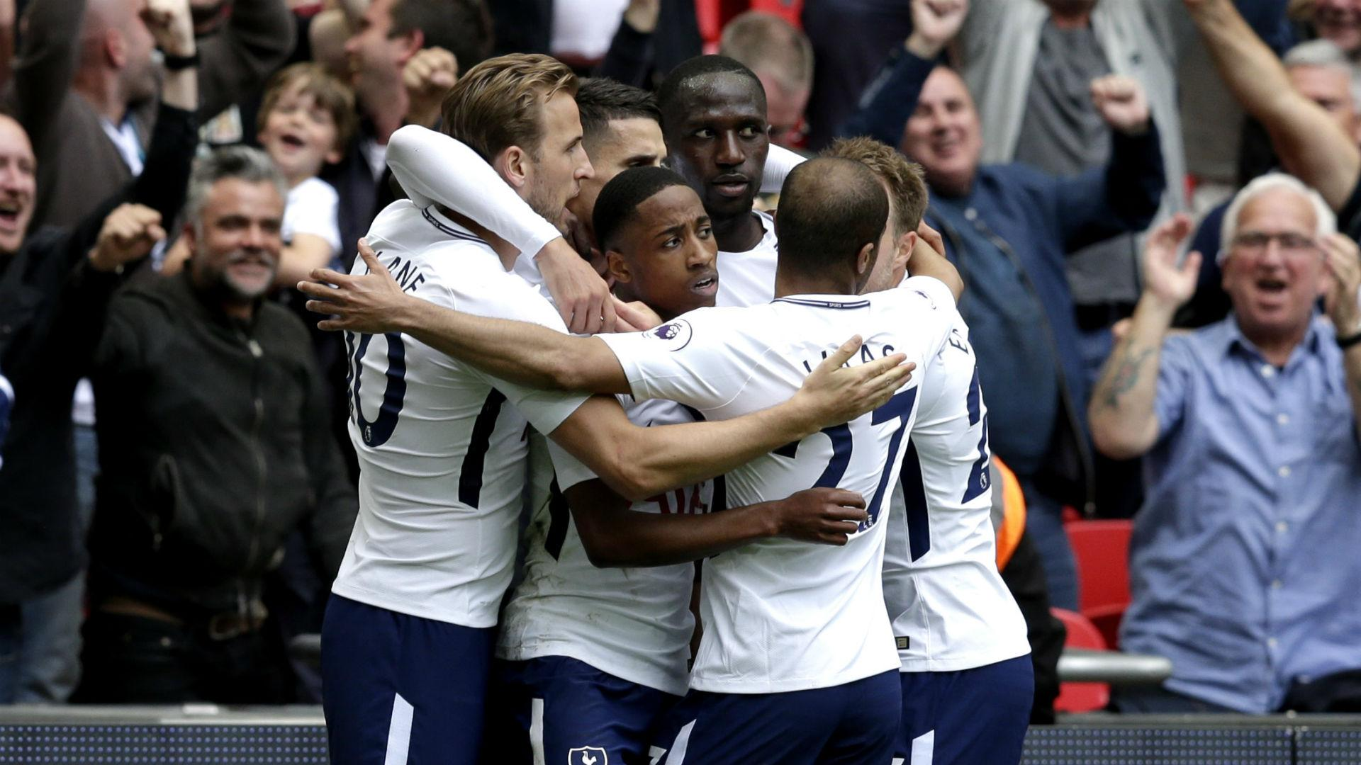 Tottenham Vs Leicester 5 4: Kane And Lamela At The Double In Nine-goal Classic