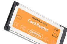 Griffin ExpressCard 5-in-1 reader out