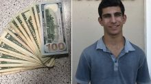 High school student 'does right thing' after finding $14,000