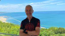 Paura per Linus, investito in bici