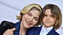 Selma Blair thought she was an 'embarrassment' to her son, but he says she's 'brave'