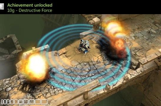 Microsoft shows off XNA games running on Windows Phone, full 3D is a go