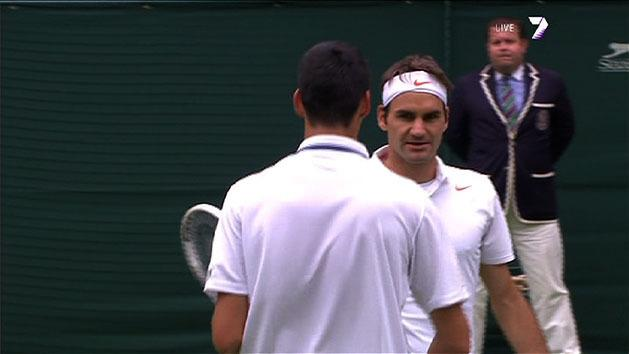 Highlights: Federer v Hanescu