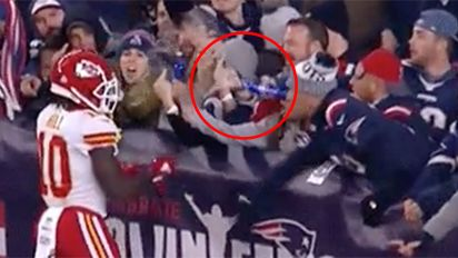 NFL star urges legal action over fan's shocking act
