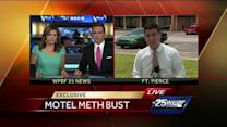 Investigators bust meth lab at Fort Pierce motel