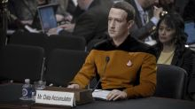 This image of Mark Zuckerberg as Data from 'Star Trek' works on so many levels
