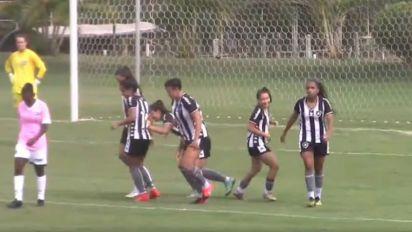 Botafogo goleia Goiás no retorno da Série A2 do Brasileirão Feminino