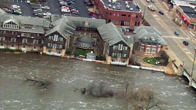 Suburban residents face extensive flooding