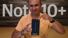 Unboxing Galaxy Note 10 Plus Aura Glow