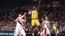 Blazers spoil LeBron's Lakers debut