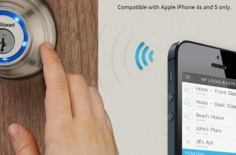 New Kevo lock uses your iPhone for keyless entry
