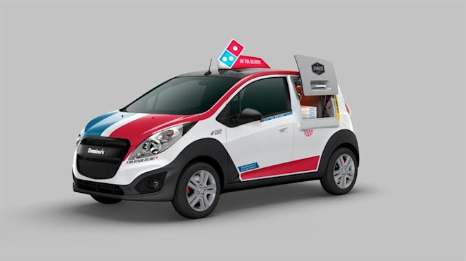 Domino's built a pizza delivery car with its own oven