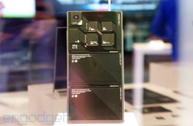 ZTE's modular smartphone could make part-swapping a reality within two years